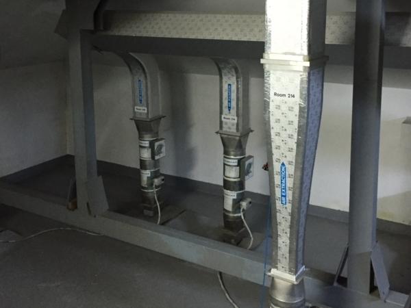 Constatare sisteme de climatizare si ventilatie