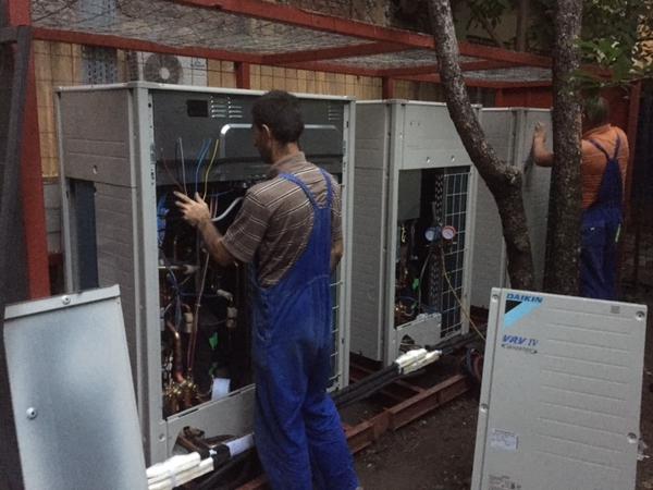 intretinere sisteme de climatizare si ventilatie